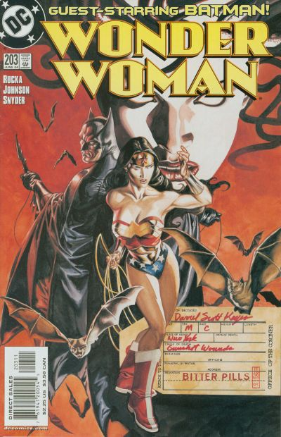 Cover for Wonder Woman (DC, 1987 series) #203