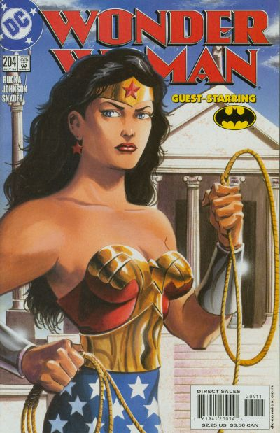 Cover for Wonder Woman (DC, 1987 series) #204