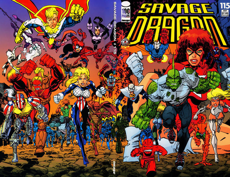 Cover for Savage Dragon (Image, 1993 series) #115