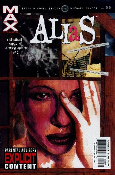 Cover for Alias (Marvel, 2001 series) #22