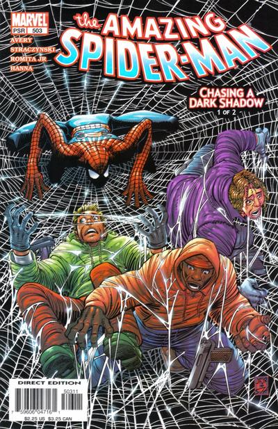 Cover for The Amazing Spider-Man (Marvel, 1999 series) #503