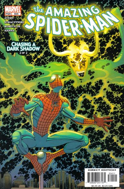 Cover for The Amazing Spider-Man (Marvel, 1999 series) #504