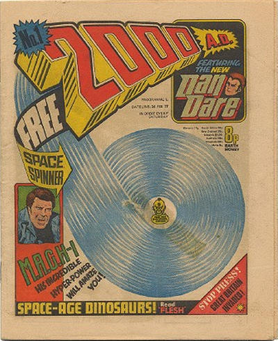 Cover for 2000 AD (IPC, 1977 series) #1