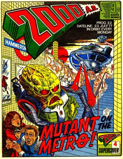 Cover for 2000 AD (IPC, 1977 series) #22