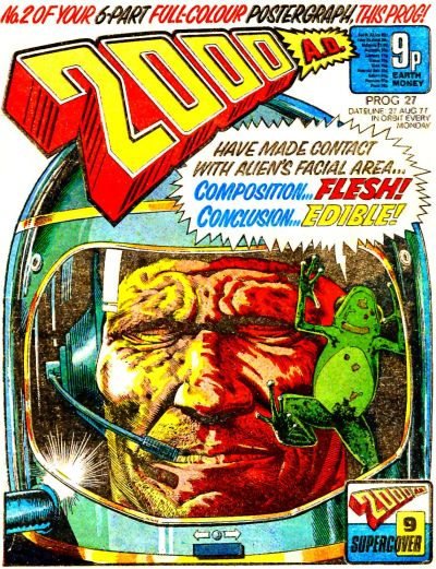 Cover for 2000 AD (1977 series) #27