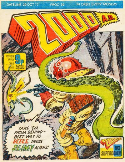 Cover for 2000 AD (IPC, 1977 series) #36
