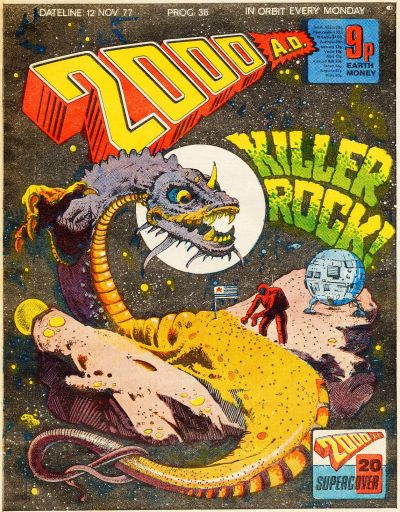 Cover for 2000 AD (IPC, 1977 series) #38