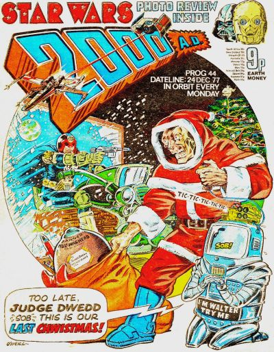Cover for 2000 AD (IPC, 1977 series) #44