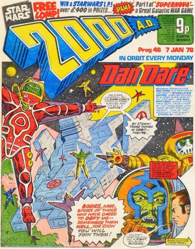 Cover for 2000 AD (1977 series) #46