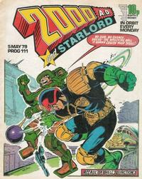 Cover Thumbnail for 2000 AD and Starlord (IPC, 1978 series) #111