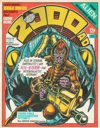 Cover for 2000 AD and Star Lord (1978 series) #124