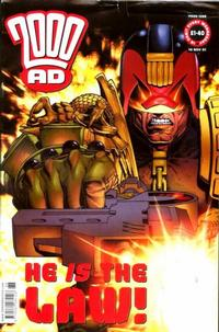 Cover Thumbnail for 2000 AD (Rebellion, 2001 series) #1268