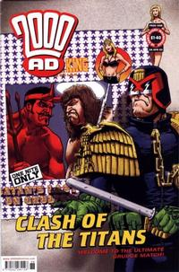 Cover Thumbnail for 2000 AD (Rebellion, 2001 series) #1288