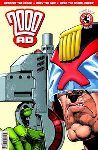 Cover Thumbnail for 2000 AD (Rebellion, 2001 series) #1333