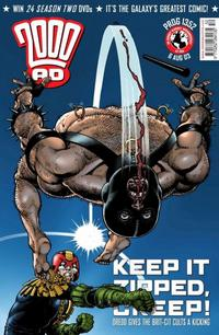 Cover Thumbnail for 2000 AD (Rebellion, 2001 series) #1352