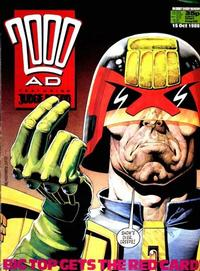 Cover for 2000 AD (Fleetway Publications, 1987 series) #596