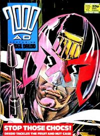 Cover for 2000 AD (Fleetway Publications, 1987 series) #614