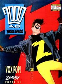 Cover for 2000 AD (1987 series) #627
