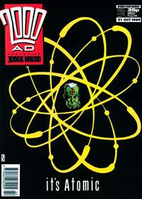 Cover Thumbnail for 2000 AD (Fleetway Publications, 1987 series) #649