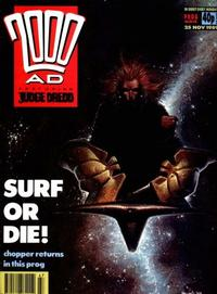 Cover Thumbnail for 2000 AD (Fleetway Publications, 1987 series) #654