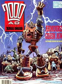 Cover Thumbnail for 2000 AD (Fleetway Publications, 1987 series) #672