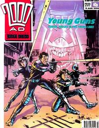 Cover for 2000 AD (Fleetway Publications, 1987 series) #691