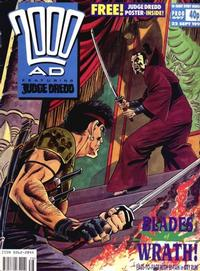 Cover Thumbnail for 2000 AD (Fleetway Publications, 1987 series) #697