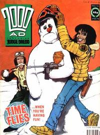 Cover Thumbnail for 2000 AD (Fleetway Publications, 1987 series) #711
