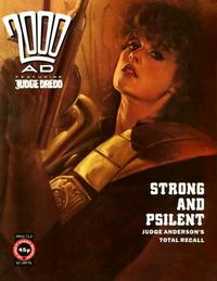 Cover Thumbnail for 2000 AD (Fleetway Publications, 1987 series) #713