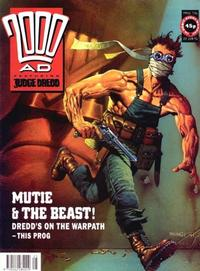 Cover Thumbnail for 2000 AD (Fleetway Publications, 1987 series) #736