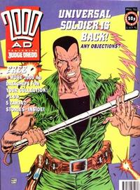 Cover Thumbnail for 2000 AD (Fleetway Publications, 1987 series) #751