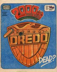 Cover Thumbnail for 2000 AD (IPC, 1977 series) #262