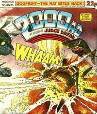 Cover for 2000 AD (1977 series) #400