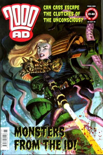 Cover for 2000 AD (Rebellion, 2001 series) #1265