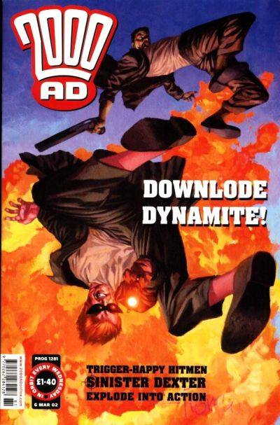 Cover for 2000 AD (Rebellion, 2001 series) #1281