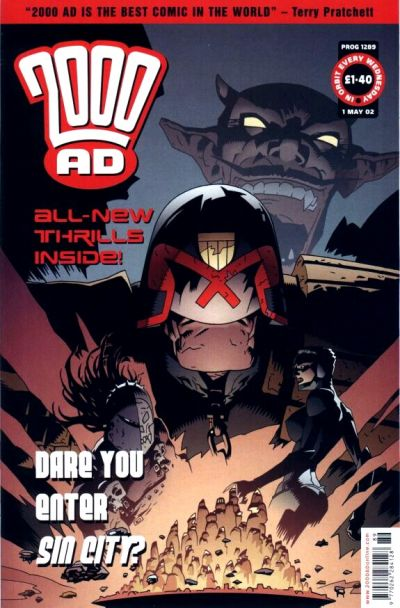 Cover for 2000 AD (Rebellion, 2001 series) #1289