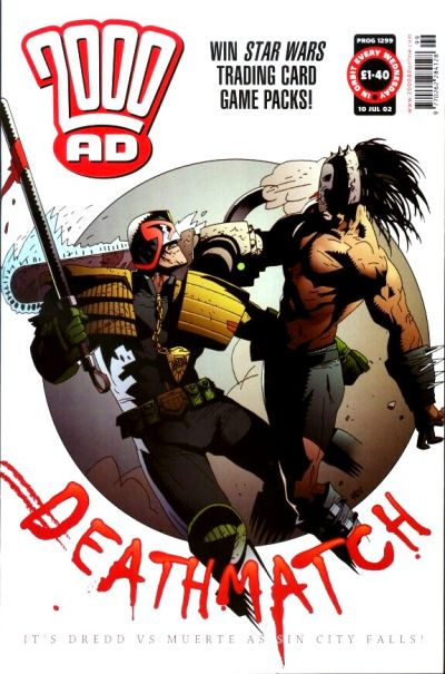 Cover for 2000 AD (Rebellion, 2001 series) #1299
