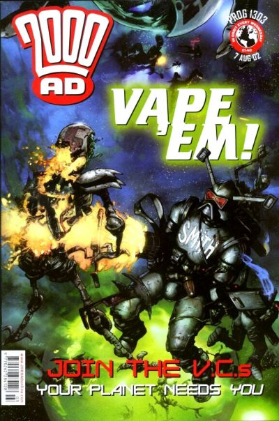 Cover for 2000 AD (Rebellion, 2001 series) #1303