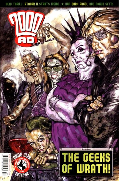 Cover for 2000 AD (Rebellion, 2001 series) #1329