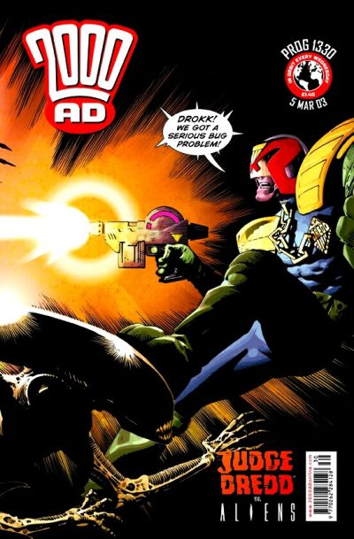 Cover for 2000 AD (Rebellion, 2001 series) #1330