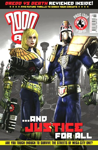 Cover for 2000 AD (Rebellion, 2001 series) #1358