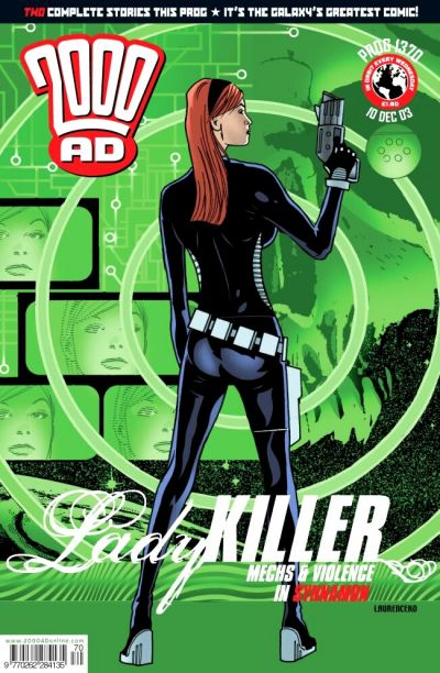 Cover for 2000 AD (Rebellion, 2001 series) #1370