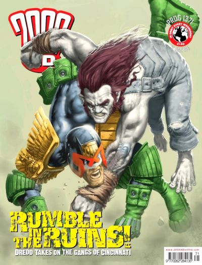 Cover for 2000 AD (Rebellion, 2001 series) #1371