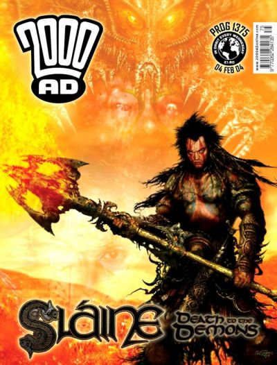 Cover for 2000 AD (Rebellion, 2001 series) #1375