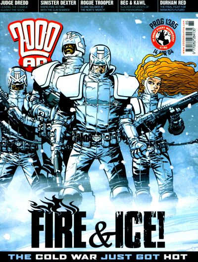 Cover for 2000 AD (Rebellion, 2001 series) #1385