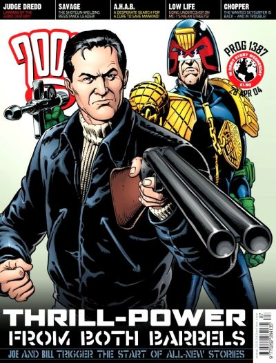 Cover for 2000 AD (Rebellion, 2001 series) #1387