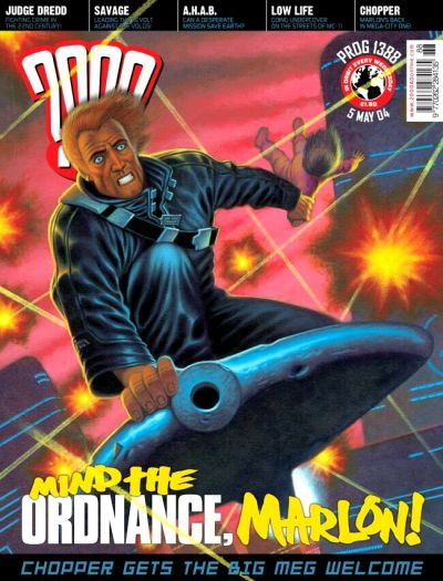 Cover for 2000 AD (Rebellion, 2001 series) #1388
