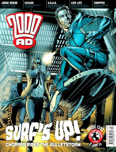 Cover for 2000 AD (Rebellion, 2001 series) #1392