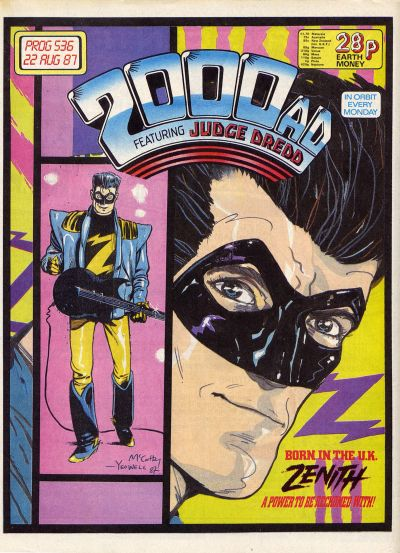 Cover for 2000 AD (Fleetway Publications, 1987 series) #536