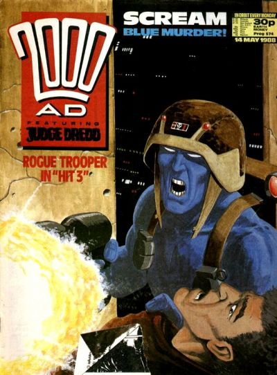 Cover for 2000 AD (1987 series) #574